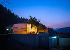 Glamping (glamorous camping) - unusual 'tents' for those who do like camping and nature, but don't like roughing it.. temporary laboratories and housing.