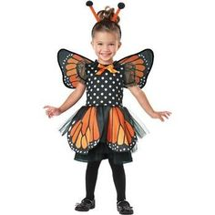 MONARCH BUTTERFLY INFANT/TODDLER COSTUME – Exquisitely Yours Merchandise Club - Your Gifts and Collectibles