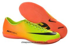 Nike Mercurial Victory IV IC Indoor Football Boots 2013 Volt Black Citrus Indoor  Football Boots 89e439aa6c4cc