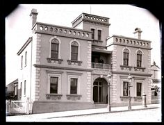 Newcastle Council Chambers in the Hunter region of New South Wales (year unknown). Newcastle Nsw, Secret Places, My Town, Neoclassical, Australia, South Wales, Mansions, The Originals, History