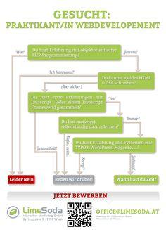 [Jobs] Praktikant/in Web Development bei LimeSoda