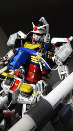 """Custom Build: MG 1/100 RX-78-2 Gundam Ver. 3.0 """"Vahngo Version"""" with Diorama and Open Hatch Presentation - Gundam Kits Collection News and Reviews"""