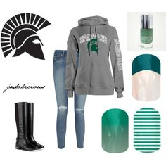 """""""spartans"""" by jadalicious on Polyvore #jamberry"""