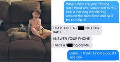 This Wife Trolled Her Husband Into Thinking She Adopted a Coyote