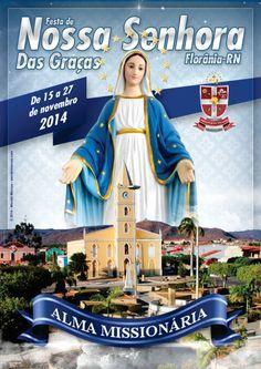 Capa da Festa de N. Sra. das Graças 2014 - Florânia-RN
