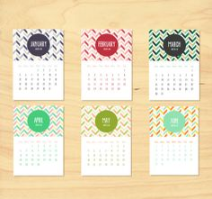 INSTANT DOWNLOAD - Printable 2014 Calendar