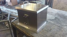 Stainless fabrication Stainless Steel Fabrication, Desk, Furniture, Home Decor, Desktop, Decoration Home, Room Decor, Writing Desk, Home Furniture