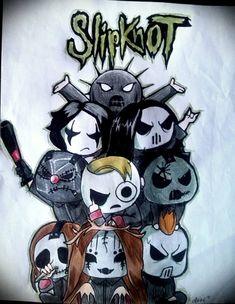 chibi Slipknot by Frankienstein on DeviantArt