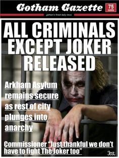 Gotham Gazette's Headlines During The Dark Knight Rises