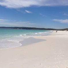 NSW- I'm beginning to recognize my home! The white buildings in the distance is Creswell Naval Base- where S first began his training. Hyams Beach, Jervis Bay | 40 Uniquely Australian Experiences To Add To Your Bucket List