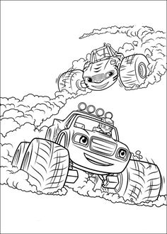 blaze and the monster machines coloring pages online. Blaze and The monster machine is a film that tells the story of a monster truck adventure called Blaze, the story is exciting. The story is always abo. Nick Jr Coloring Pages, Easy Coloring Pages, Cartoon Coloring Pages, Disney Coloring Pages, Christmas Coloring Pages, Coloring Pages To Print, Printable Coloring Pages, Coloring Books, Toddler Coloring Book