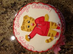 Daniel Tiger's Neighborhood.  Birthday Cake!