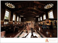 Los Angeles Union Station Engagement Session Cindy Marlon