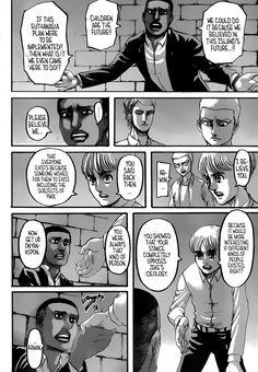 Read manga Shingeki no Kyojin Vol. 029 - Foul Play online in high quality Aot Armin, Farm Humor, Kingdom Hearts Ii, Psycho 100, Evil Spirits, Beautiful Artwork, Attack On Titan, Supernatural, Identity