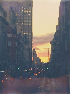 London at my favorite time of day
