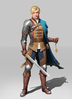 Dungeons And Dragons Characters, Dnd Characters, Fantasy Characters, Fantasy Character Design, Character Design Inspiration, Character Art, Fantasy Male, Fantasy Armor, Character Portraits