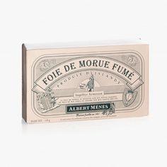 Foie de morue fumé - Albert Ménès