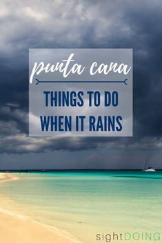Just because it& raining doesn& mean you have to miss out on fun things to do in Punta Cana! These Dominican Republic excursions are perfect when rain impacts your vacation. Leave the all inclusive resort with these tips on what to do. Lanai Island, Island Beach, Tonga, Vacation Spots, Beach Vacations, Romantic Vacations, Romantic Getaways, Vacation Travel, Vacation Ideas