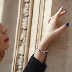 Diamond Earrings : Nigora Tabayer's ultra-luxe take on the protective eye Jewelry Show, Eye Jewelry, Jewellery, Best Jewelry Designers, Alphabet Necklace, Pearl And Diamond Earrings, Diamond Eyes, Simple Bracelets, Initial Pendant
