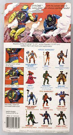 Mattel Toys vintage MOTU He-Man Masters of the Universe Sy-Klone cracked blister in Spielzeug, Action- & Spielfiguren, Film, TV & Videospiele | eBay