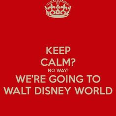 Can't wait 2014!! We're going two times!! Thanks so my hubby giving me a awesome bday gift and my mom giving us a awesome early Christmas gift!!! Disney World here we come!!