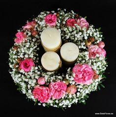 Decoración floral de Restaurantes y Coches para Bodas. Quiosco de flores de la Plaza de los Sitios de Zaragoza - Tienda Online de Flores en Zaragoza. Siete Flores