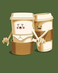Hay café que es muy pesado.