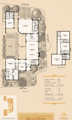 Golden Oak Orlando Montecito Derrick Lot 57 Floorplan