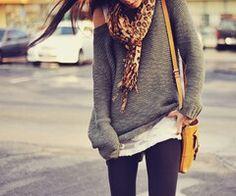 Long sweater & leggings