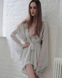 Tiger Lily Kimono from Aloe Loungewear