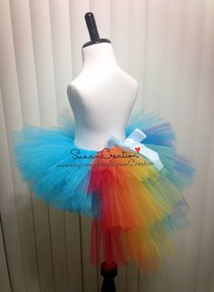 Rainbow Dash tutu Skirt, My little pony tutu skirt, Inspired. Halloween, Birthday dress, Rainbow dash, Rainbow tutu by SusanCreation on Etsy https://www.etsy.com/listing/229717291/rainbow-dash-tutu-skirt-my-little-pony