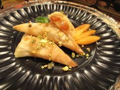 Camembert Feuilletee with Apricot Syrup and Pistachios - because you're worth it!