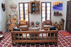 Two Windows And Sofas