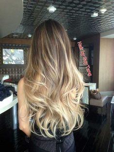Photo of Guy Tang - West Hollywood, CA, United States. Graduated balayage ombre by Guy Tang Cabelo Ombre Hair, Ombre Hair Color, Hair Colour, Blonde Color, Blonde Balayage, Balayage Highlights, Bayalage, Guy Tang Balayage, Brown Highlights