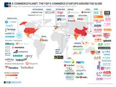 ecommerce global map infographic 4.18.17