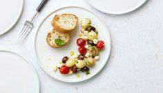 Helppo palloperunasalaatti – Resepti – Viinilehti Eggs, Breakfast, Food, Lasagna, Morning Coffee, Essen, Egg, Meals, Yemek