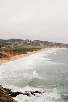 Highway One & Montara Beach, Half Moon Bay, California - We Are Adventure. Half Moon Bay California, California Vacation, California Coast, West Coast, Stuff To Do, Hogwarts, Wander, San Francisco, Places To Visit