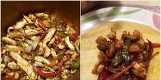 FAJITAS DE POLLO FUSSIONCOOK:. 1 vaso medidor de aceite de oliva  . 500 gramos de pechuga de pollo en tiras  . 120 gramos de pimiento rojo ... . 120 gramos de pimiento verde  . 100 gramos de cebolla en juliana . Un sobre de sazonador  . 1 cucharadita de sal  . 8 tortillas para fajitas  Preparación :  . Por en la cubeta el vaso medidor de aceite y programa el menú Freír sin modificar ni tiempo ni modificar la presión . Una vez este bien caliente y haya empezado a descontar el tiempo añadir el…