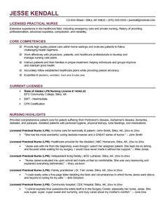free lpn licensed practical nurse resume example - Lvn Resume Template