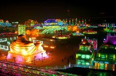 'Harbin International Ice and Snow Sculpture Festival', Northeast China