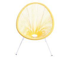 Cadeira Acapulco - Amarela