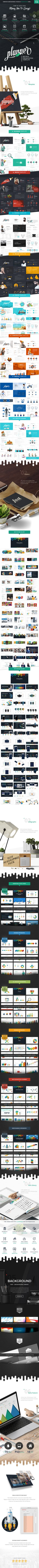 Big Pack Powerpoint Template Planner