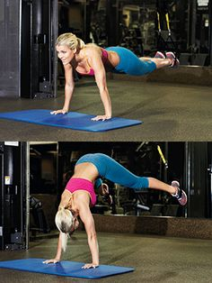 Try this HIP OPENER PIKE Works: core, glutes, outer thighs Check out the full TRX workout