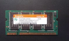 laptop Memory. Innix PC2700S-25330 DDR 333MHz 256MB DDR