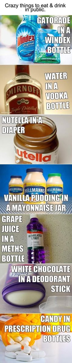 BAHAHA I want to do the vanilla in mayonaise and the white chocolate in deoderant