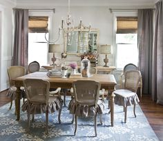 dining-room-new-table - love this dining space Cedar Hill Farmhouse