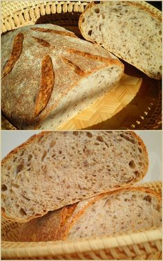 Bread Recipes, Cooking Recipes, Russian Recipes, Sourdough Bread, Bread Baking, Doughnut, Food To Make, Bakery, Good Food