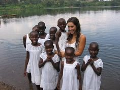 Katie Davis- This college age girl has moved to Africa and adopted a lot of children, giving homes to the homeless. Wow. Young people can make a difference! http://kissesfromkatie.blogspot.com/