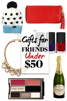 The BEST Gifts for Friends -- All Under $50