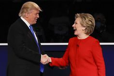 On an unforgettable night, here are the moments that stood out during Monday's presidential debate between Hillary Clinton and Donald Trump.